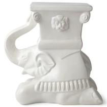 Elephant ceramic stool